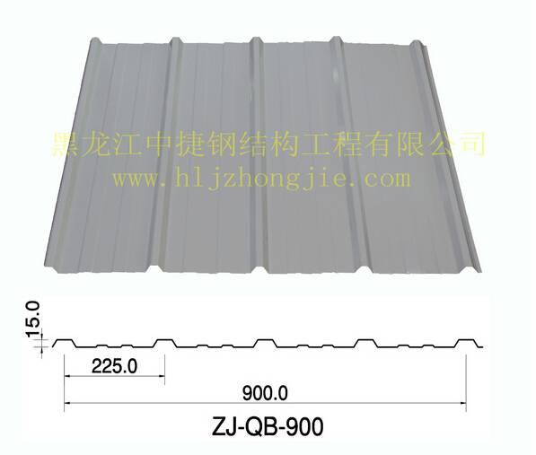 彩钢板 900 现场复合 黑龙江彩钢板
