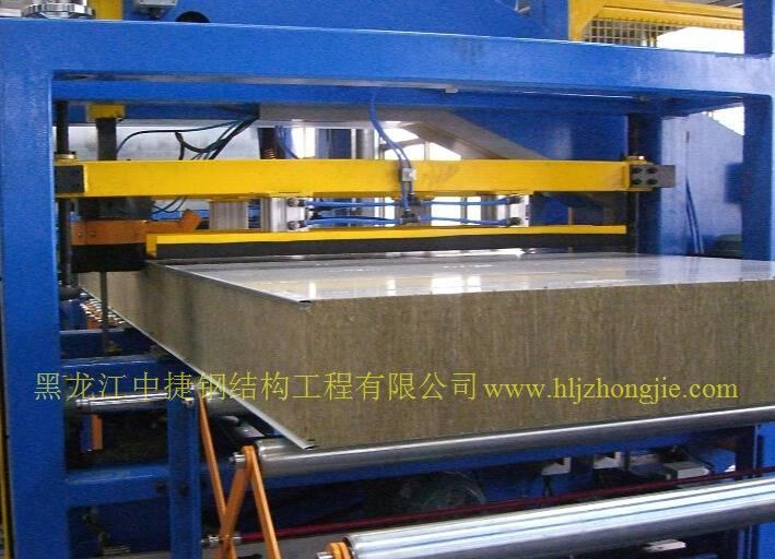 欧式岩棉板生产线